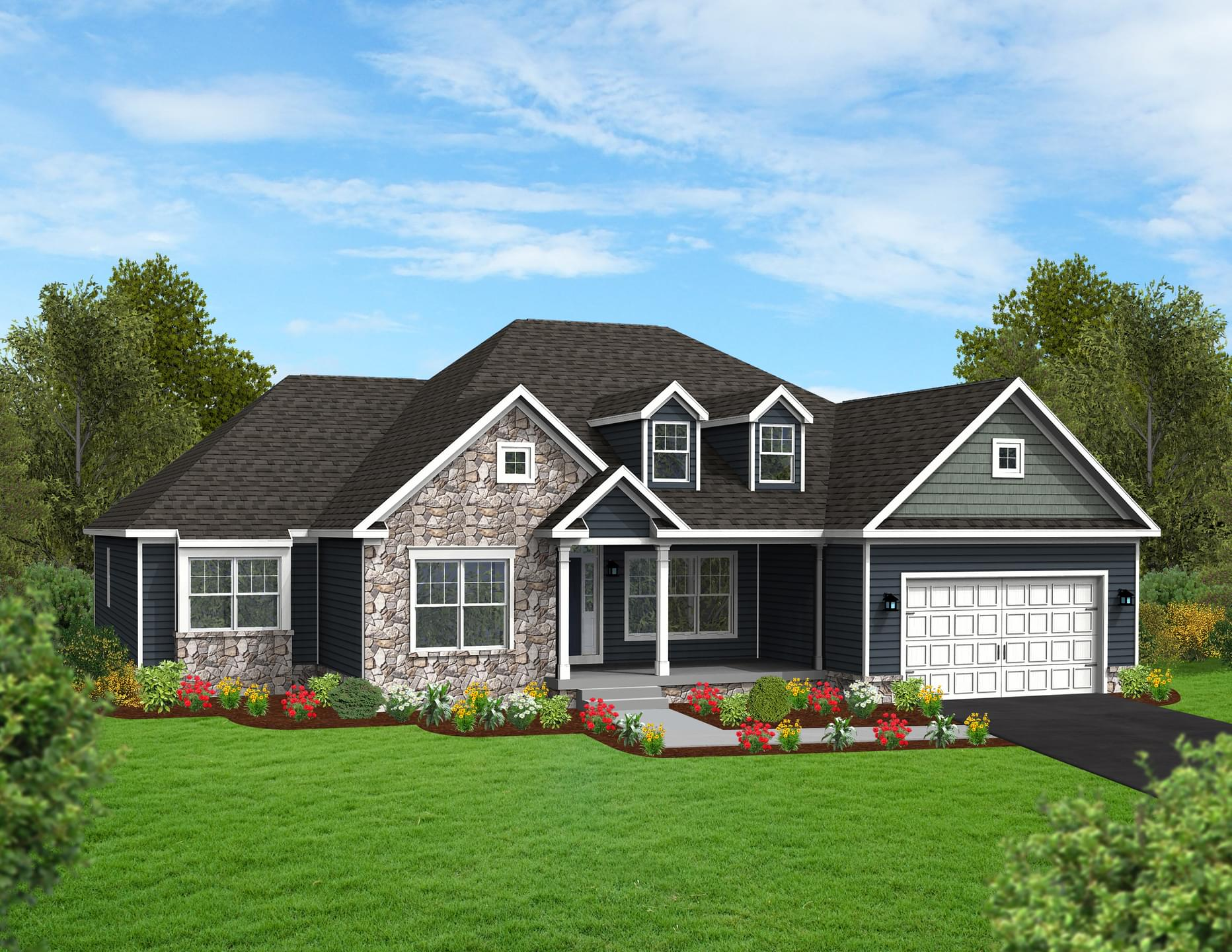 Berks Homes Elevation Image Cumberland