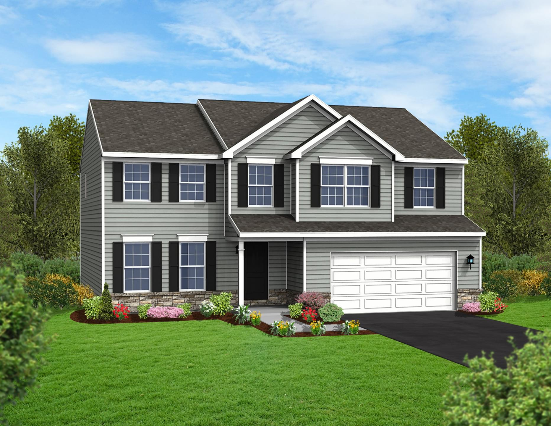 Berks Homes Elevation Image Blue Ridge