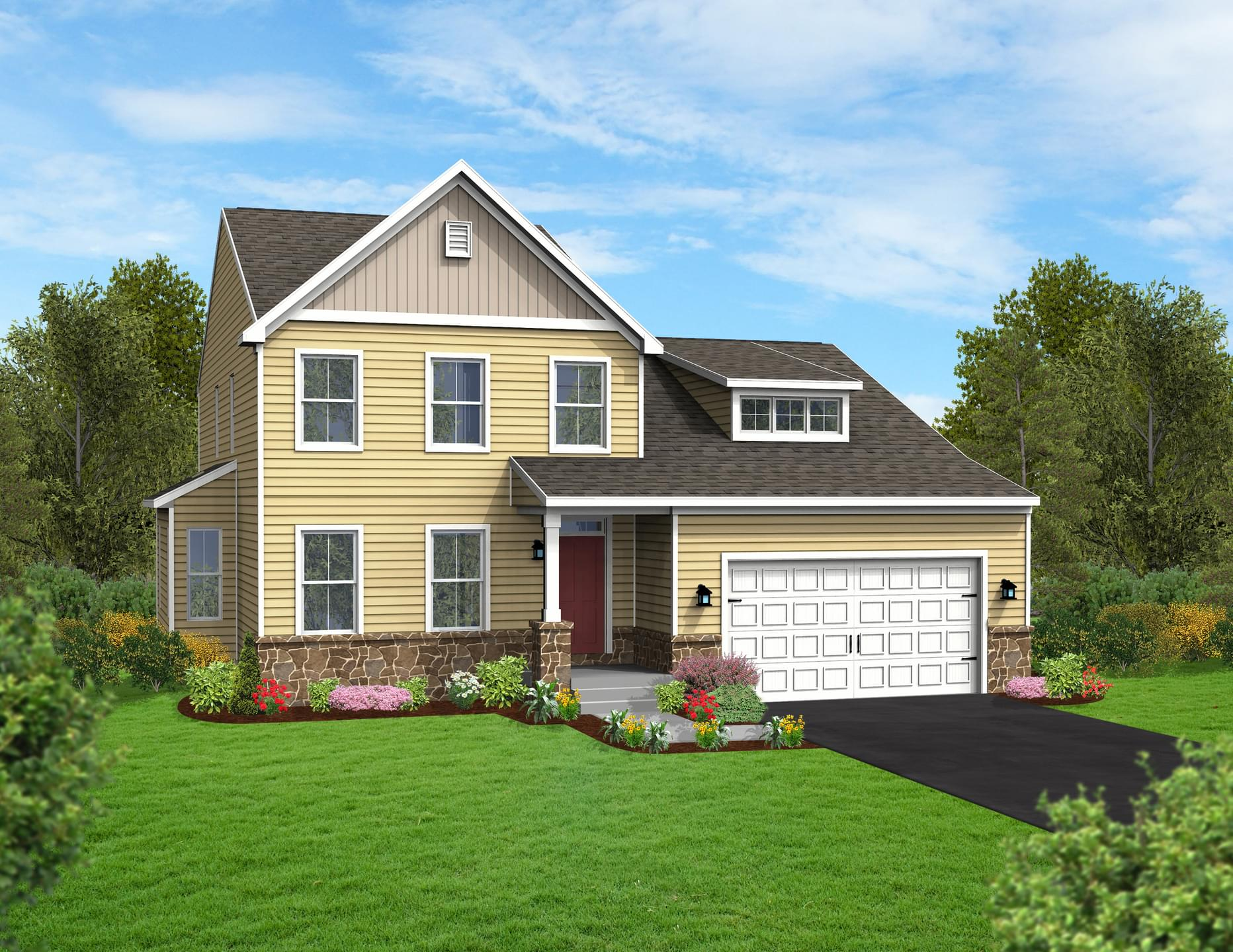 Berks Homes Elevation Image Brindlee