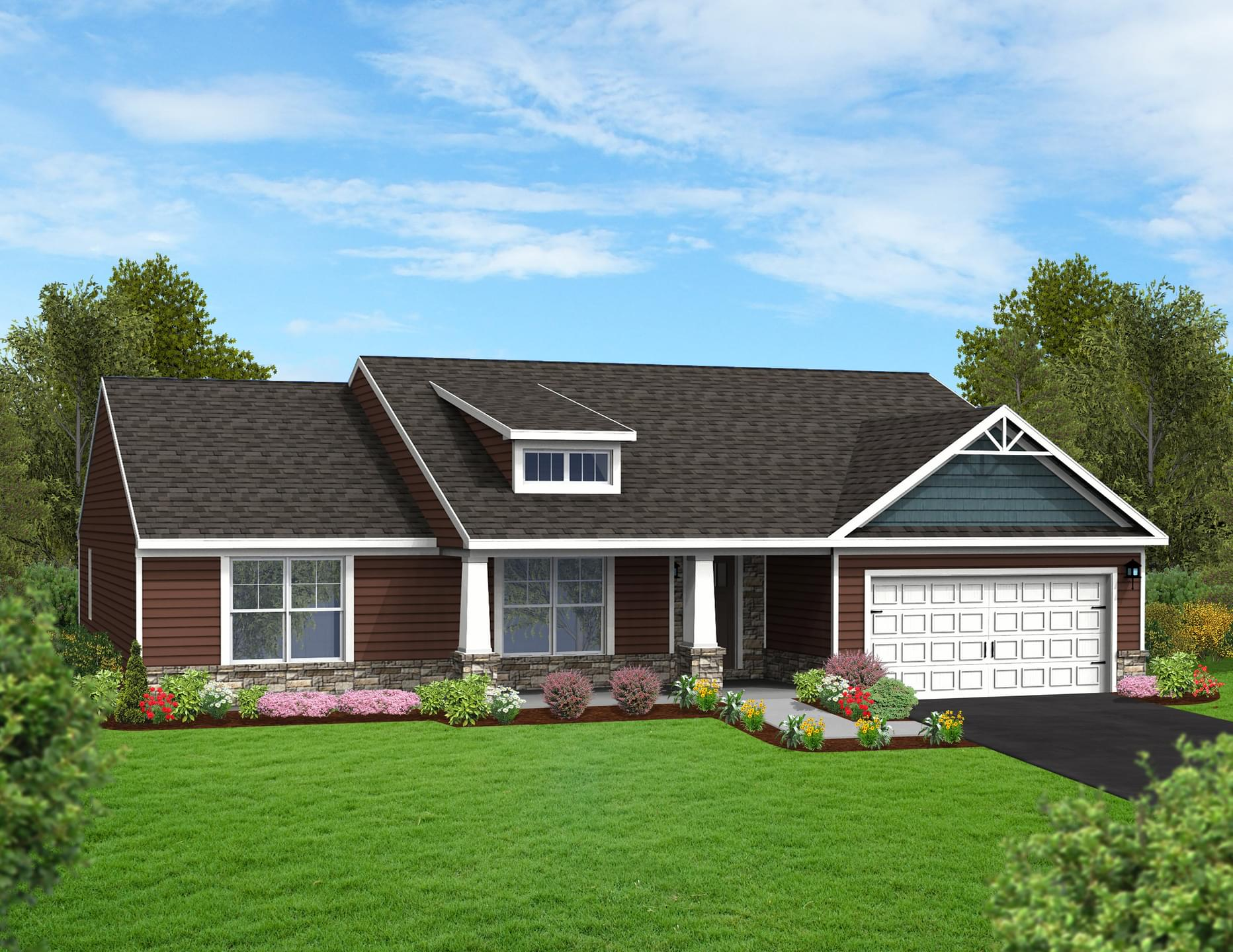 Berks Homes Elevation Image Cherry Blossom