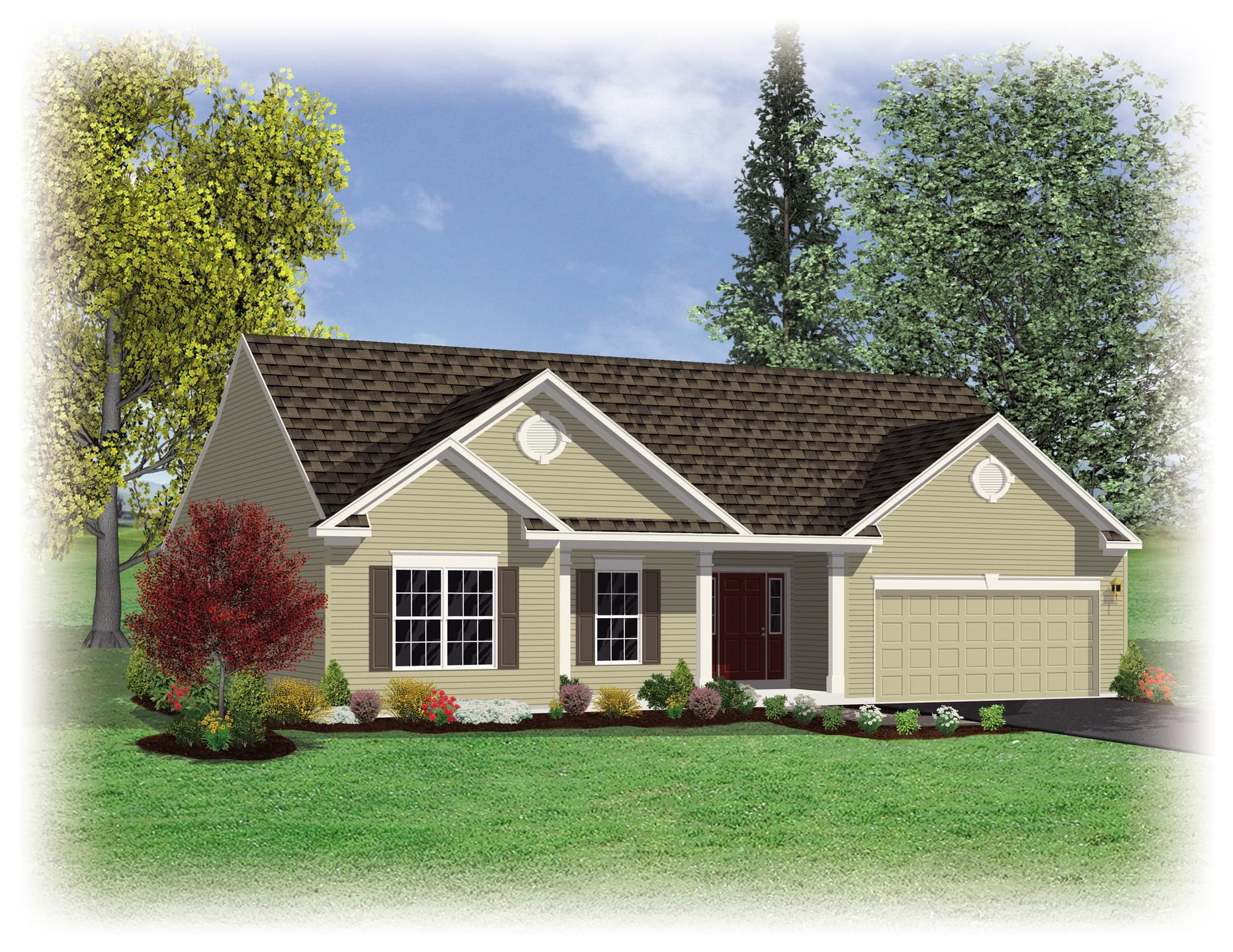 Berks Homes Elevation Image Longwood