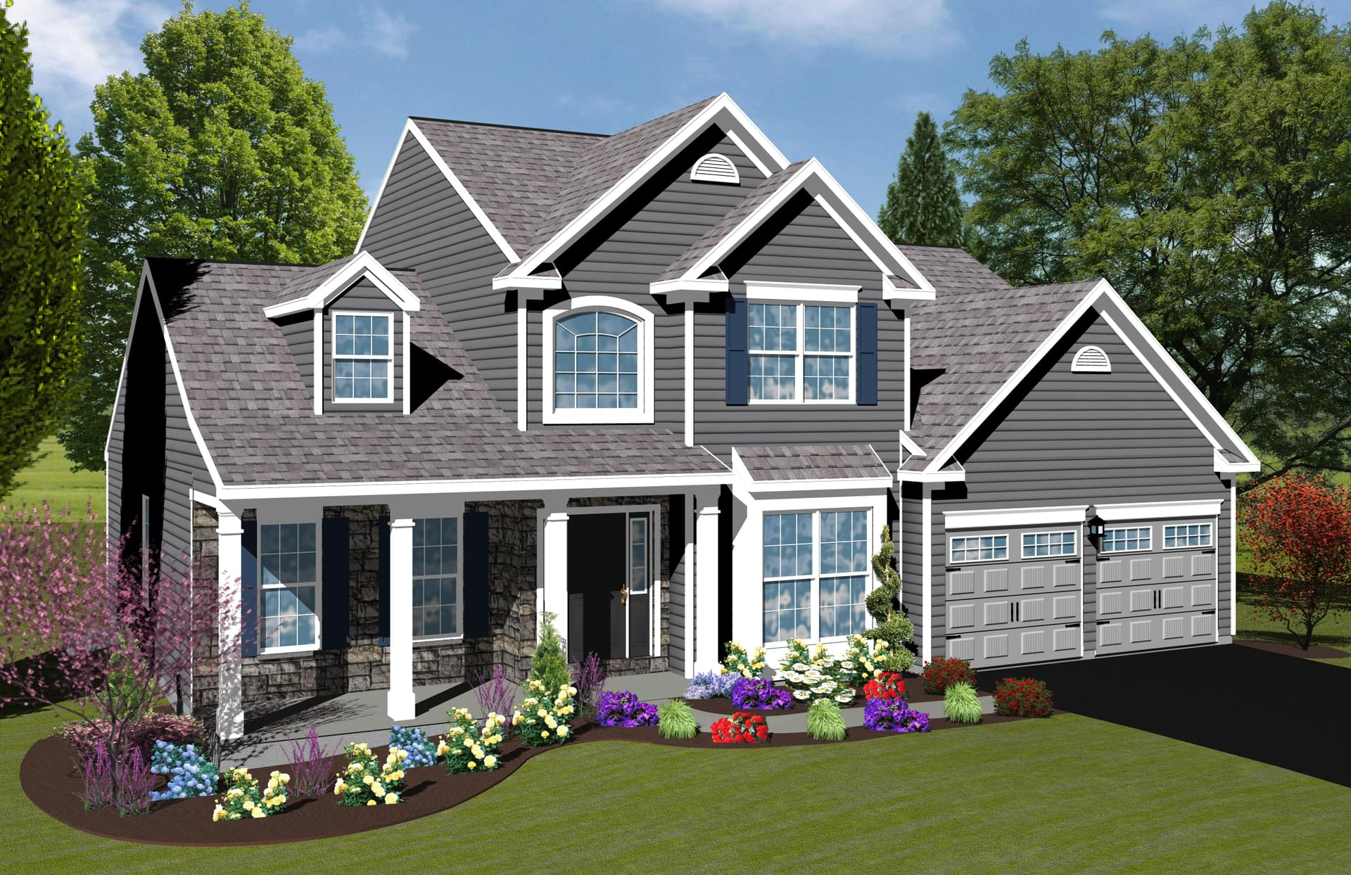 Berks Homes Elevation Image Thornhill