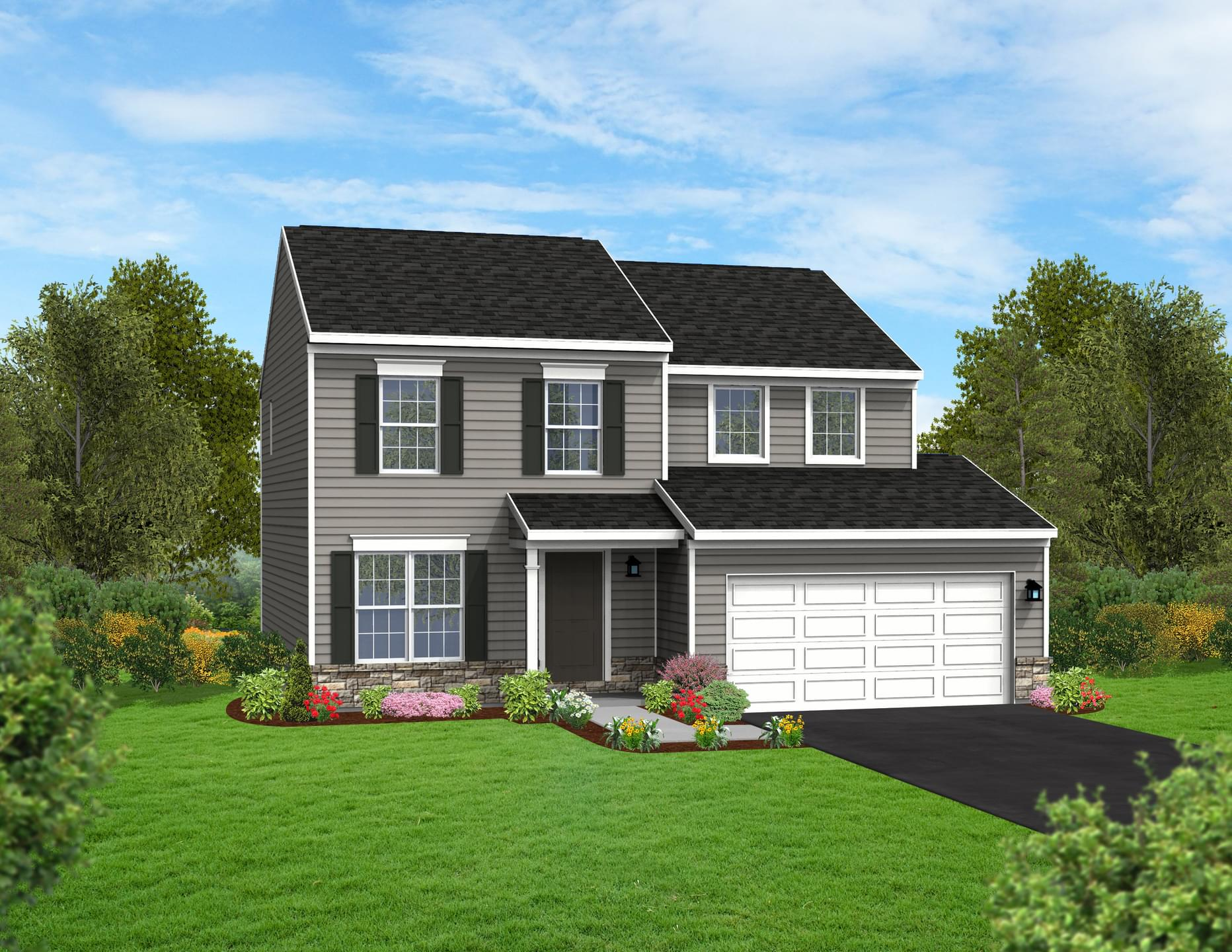 Berks Homes Elevation Image Revere