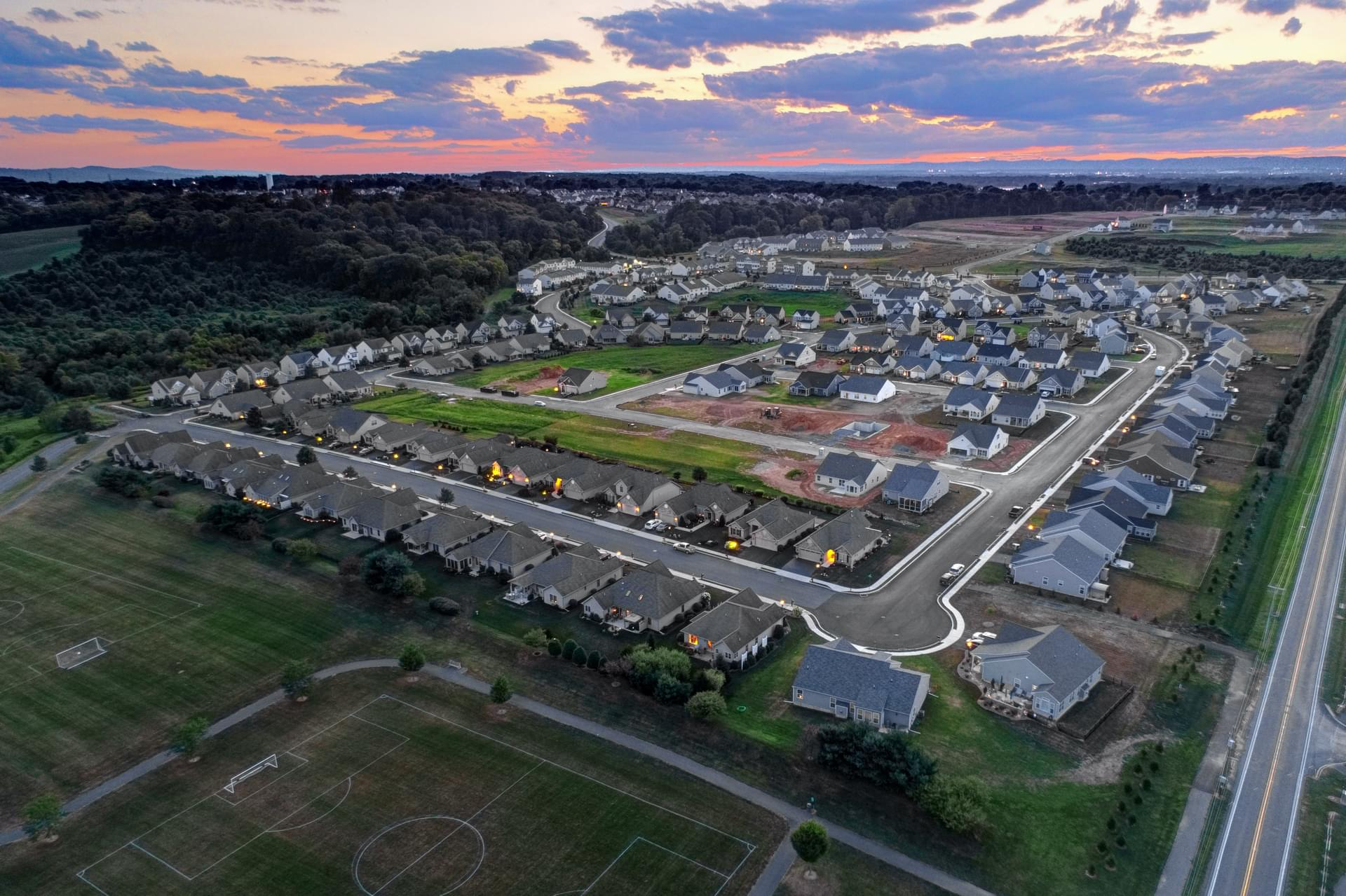 Liberty Square at Winding Hills New Homes in Mechanicsburg, PA