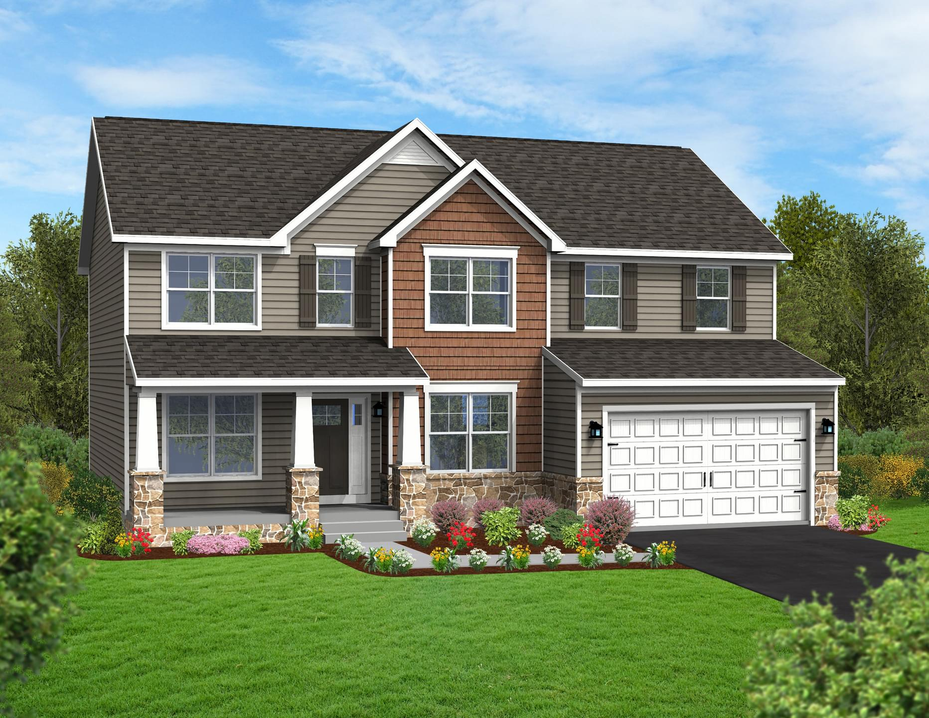 Berks Homes Elevation Image Beacon Pointe