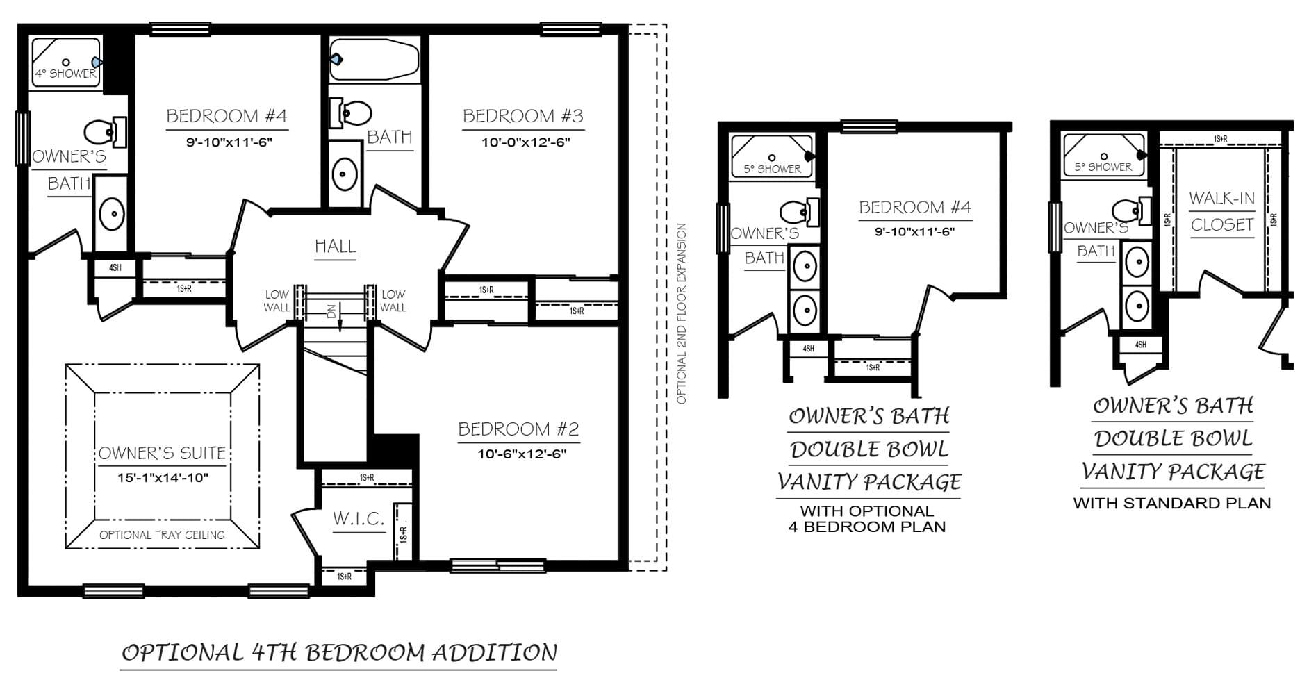 Bellwoode Floor Plans