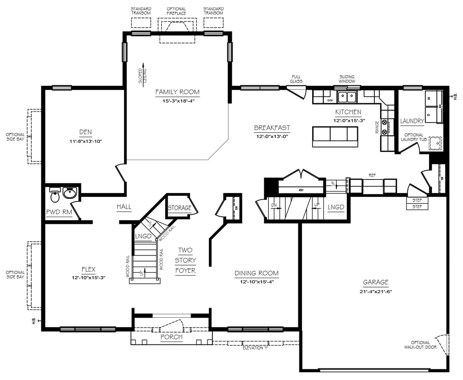 Arbor Floor Plans