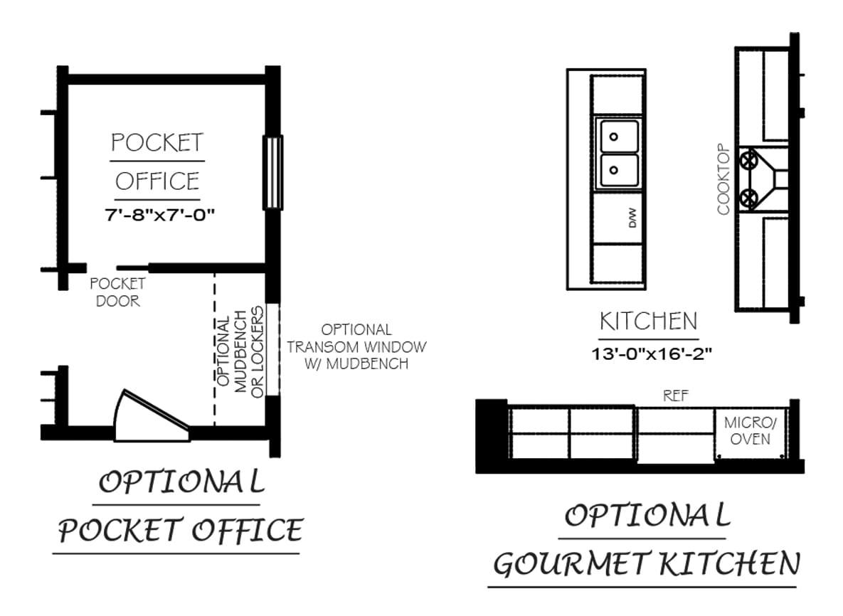 Linden Floor Plans