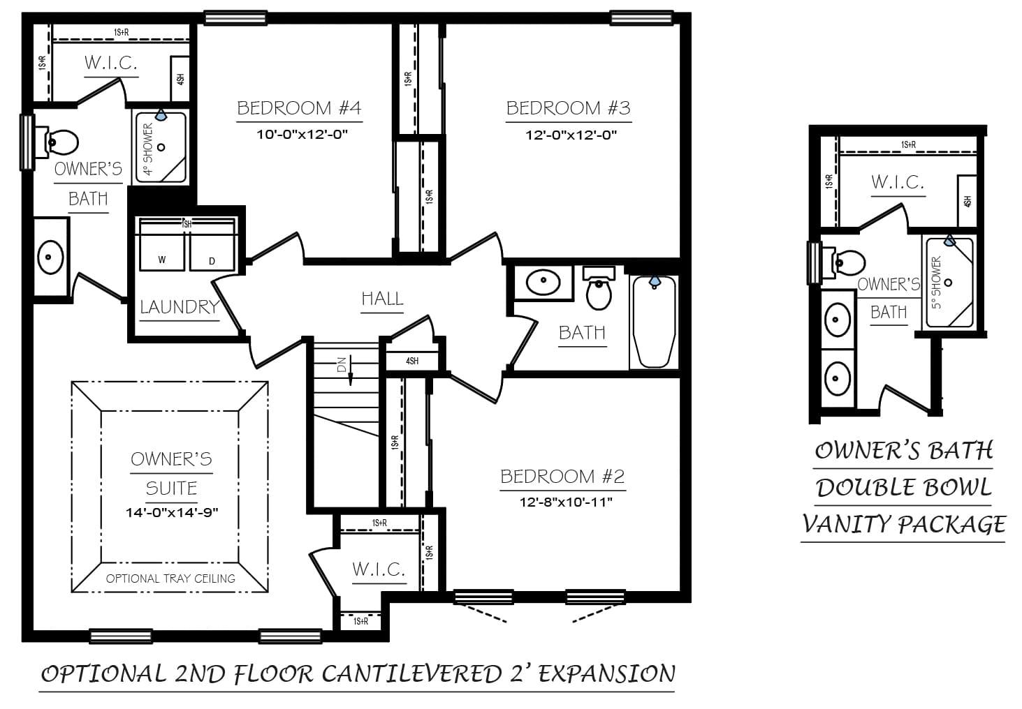Revere Floor Plans