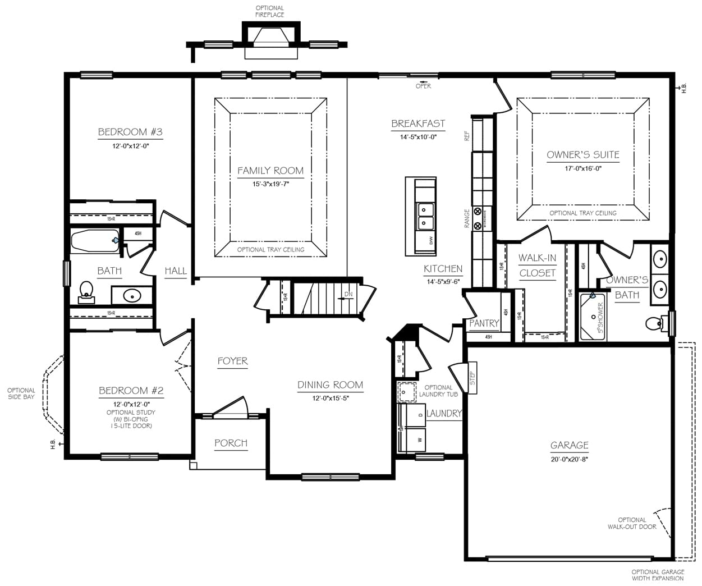 Georgia Mae Floor Plans