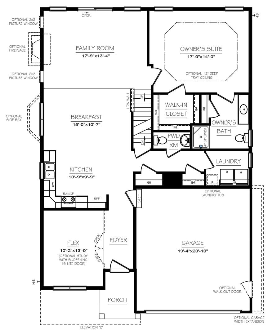 Mayfield Floor Plans