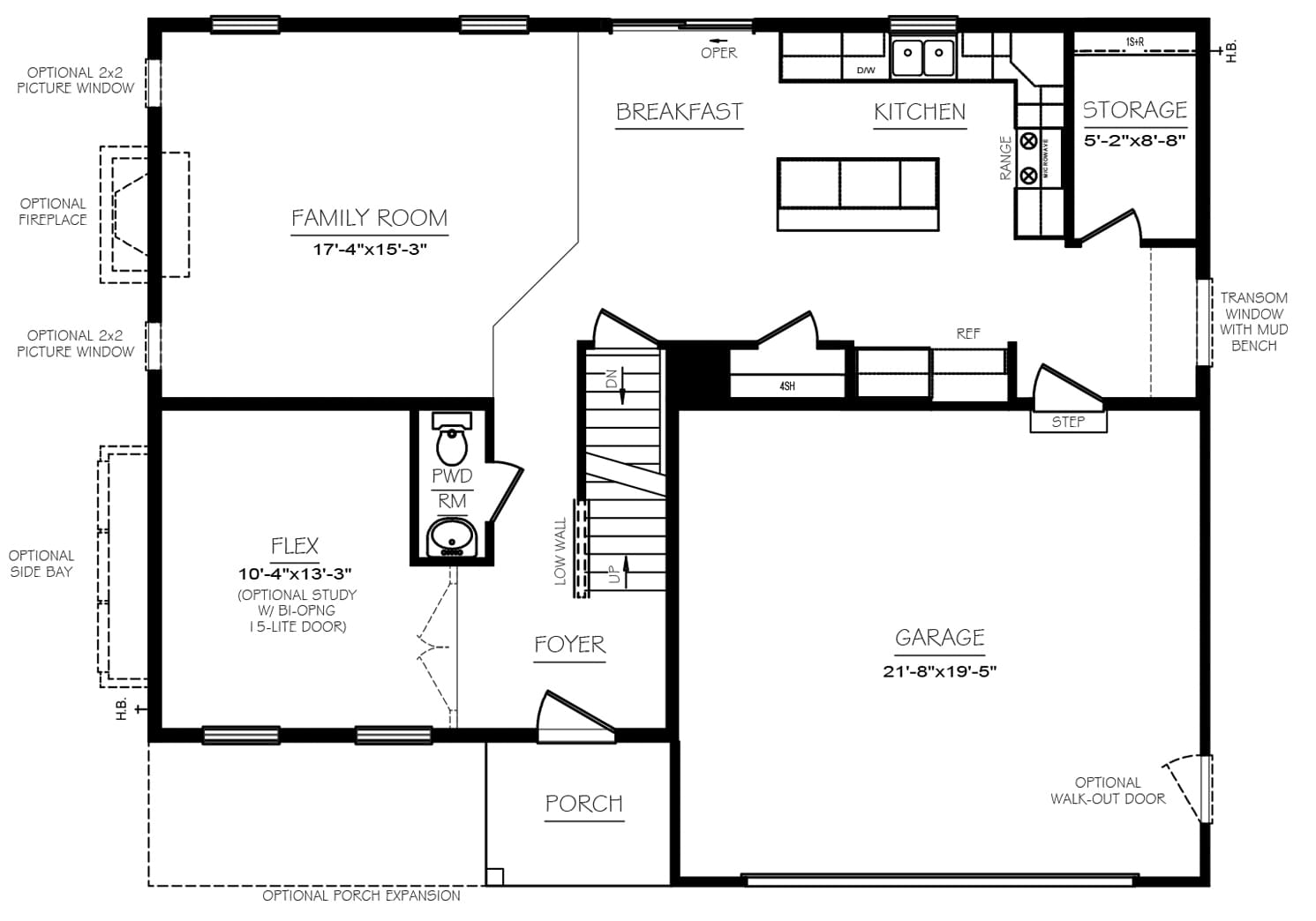 Blue Ridge Floor Plans