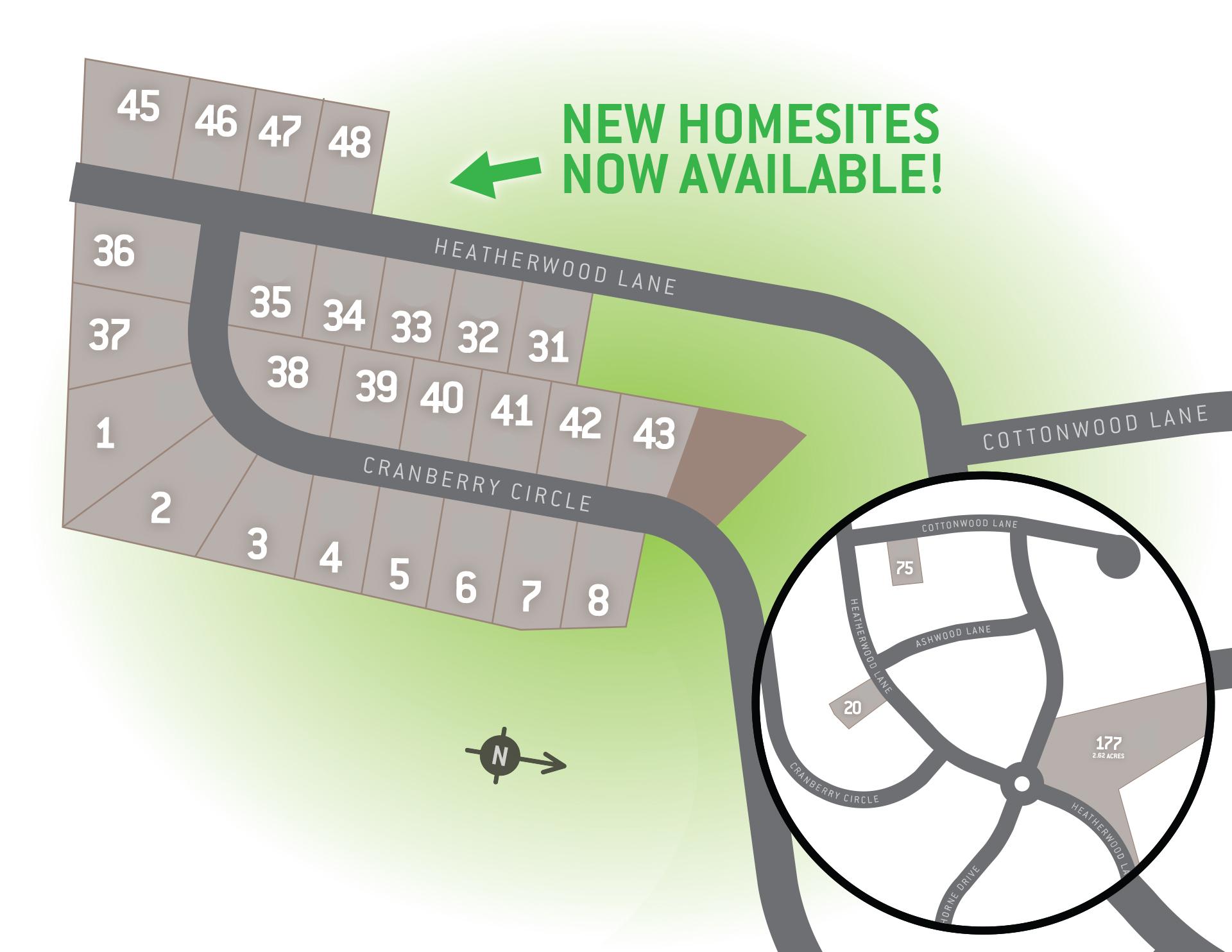 Denver, PA Heatherwoods Singles New Homes from Berks Homes