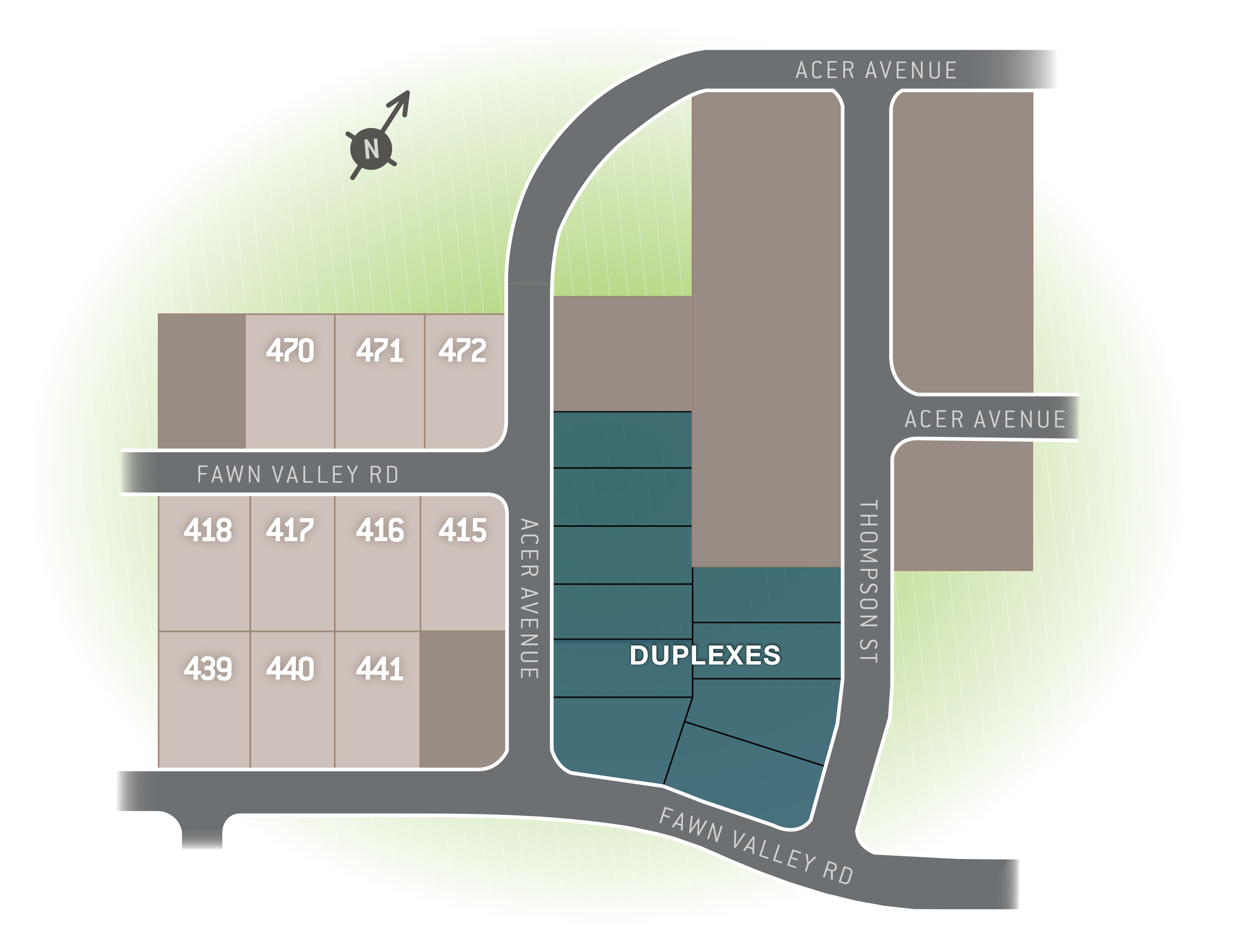 State College, PA Nittany Glen New Homes from Berks Homes