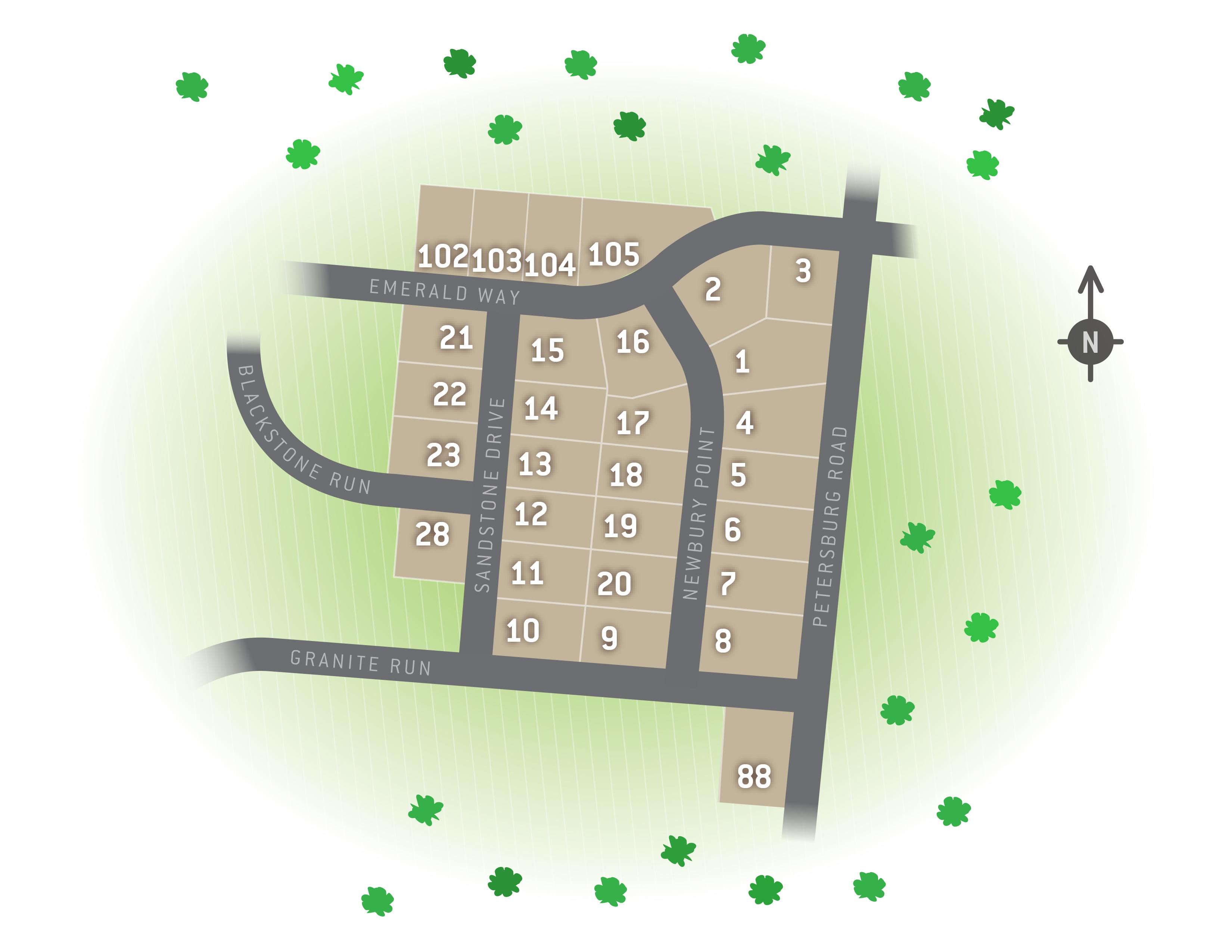 Carlisle, PA Morgan's Crossing New Homes from Berks Homes