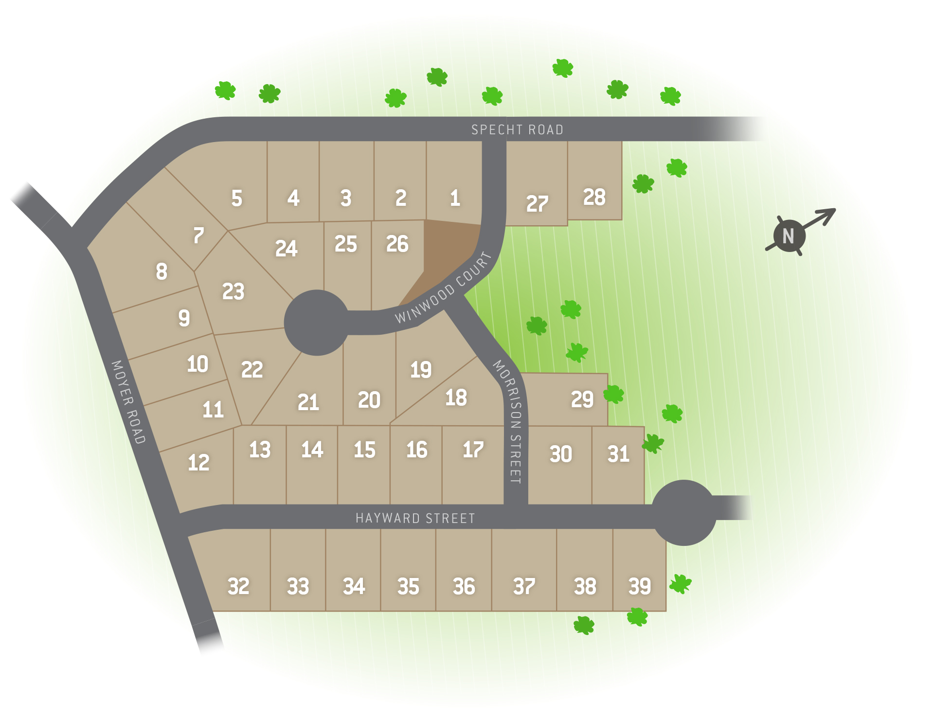 Pottstown, PA Rolling Meadows Singles New Homes from Berks Homes