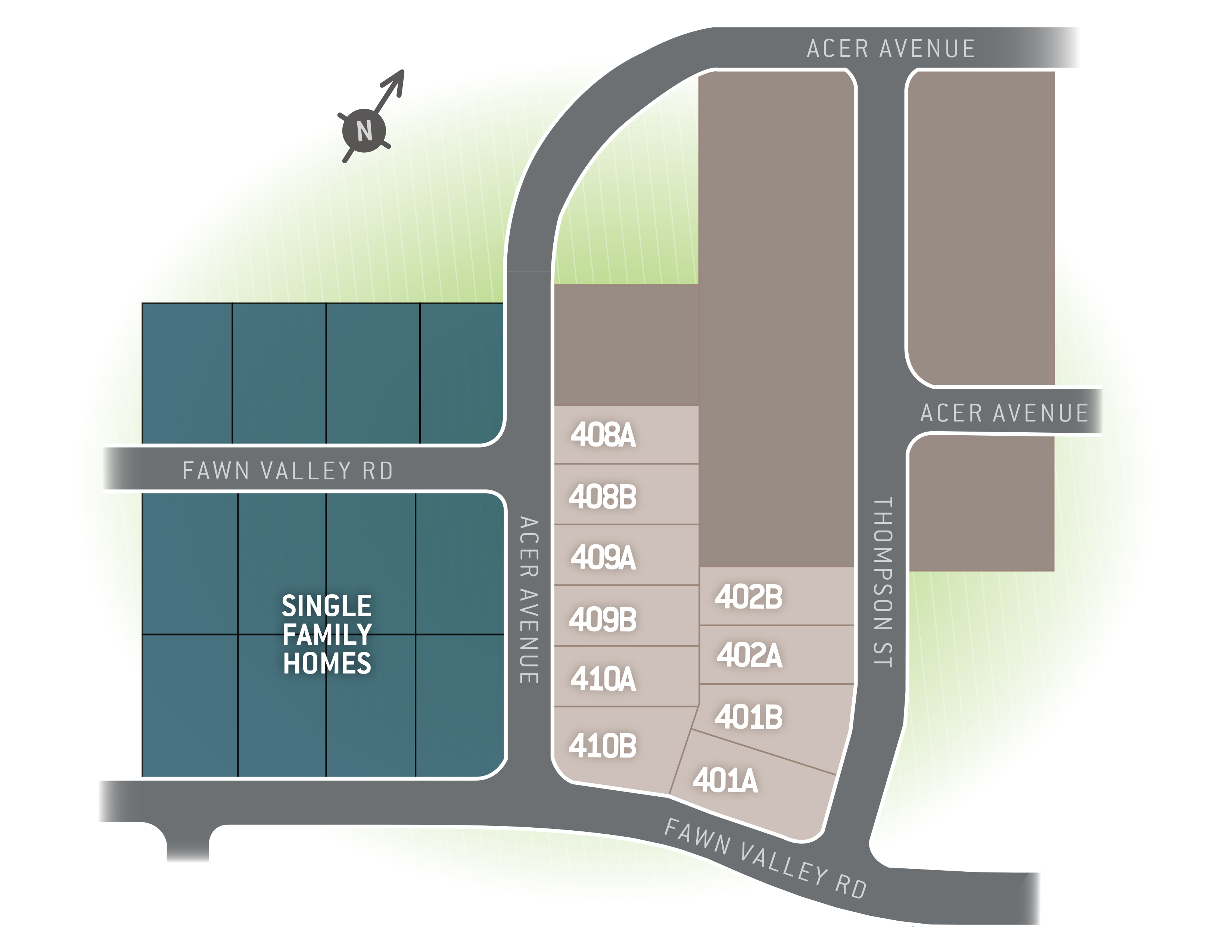 State College, PA Nittany Glen Duplexes New Homes from Berks Homes