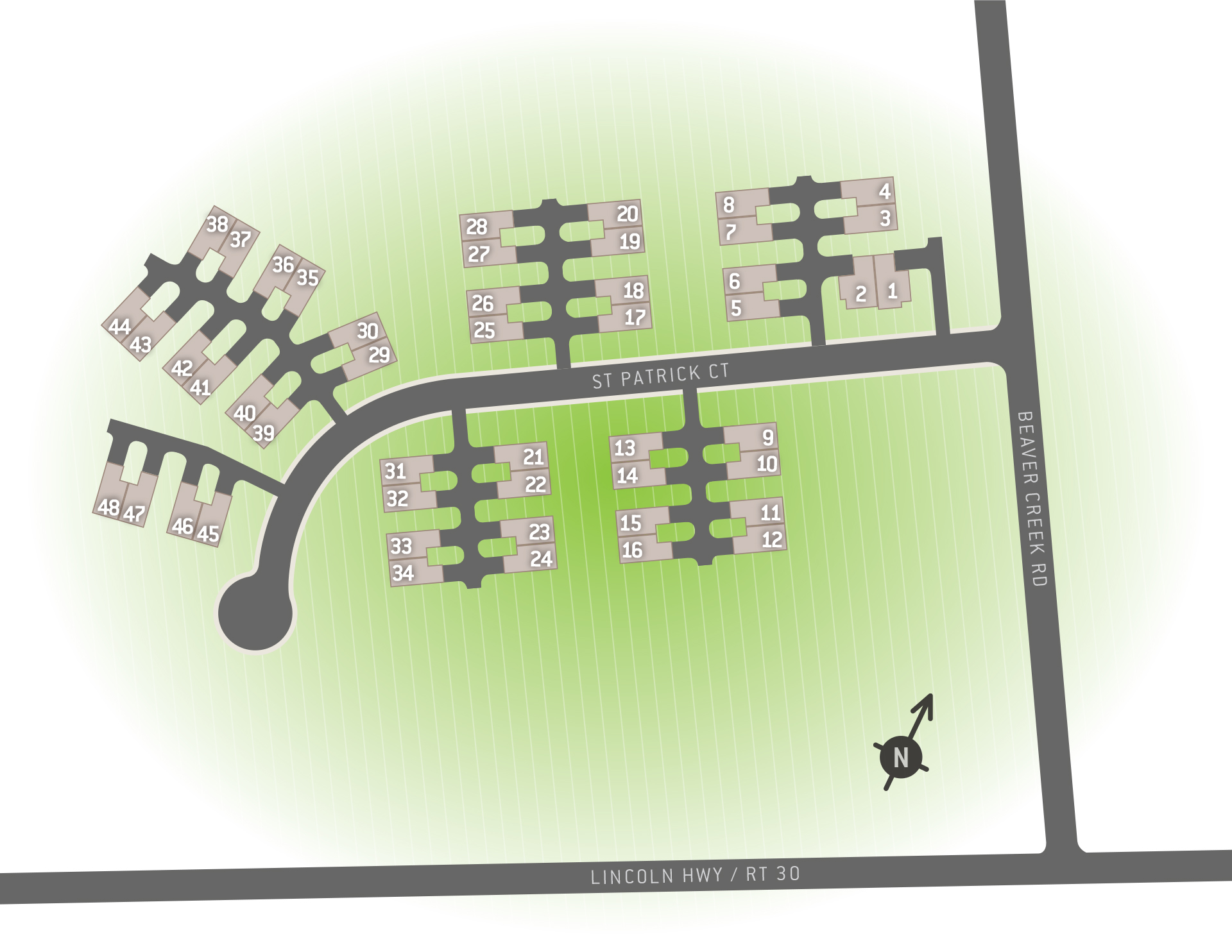 Abbotstown, PA Paradise Village New Homes from Berks Homes